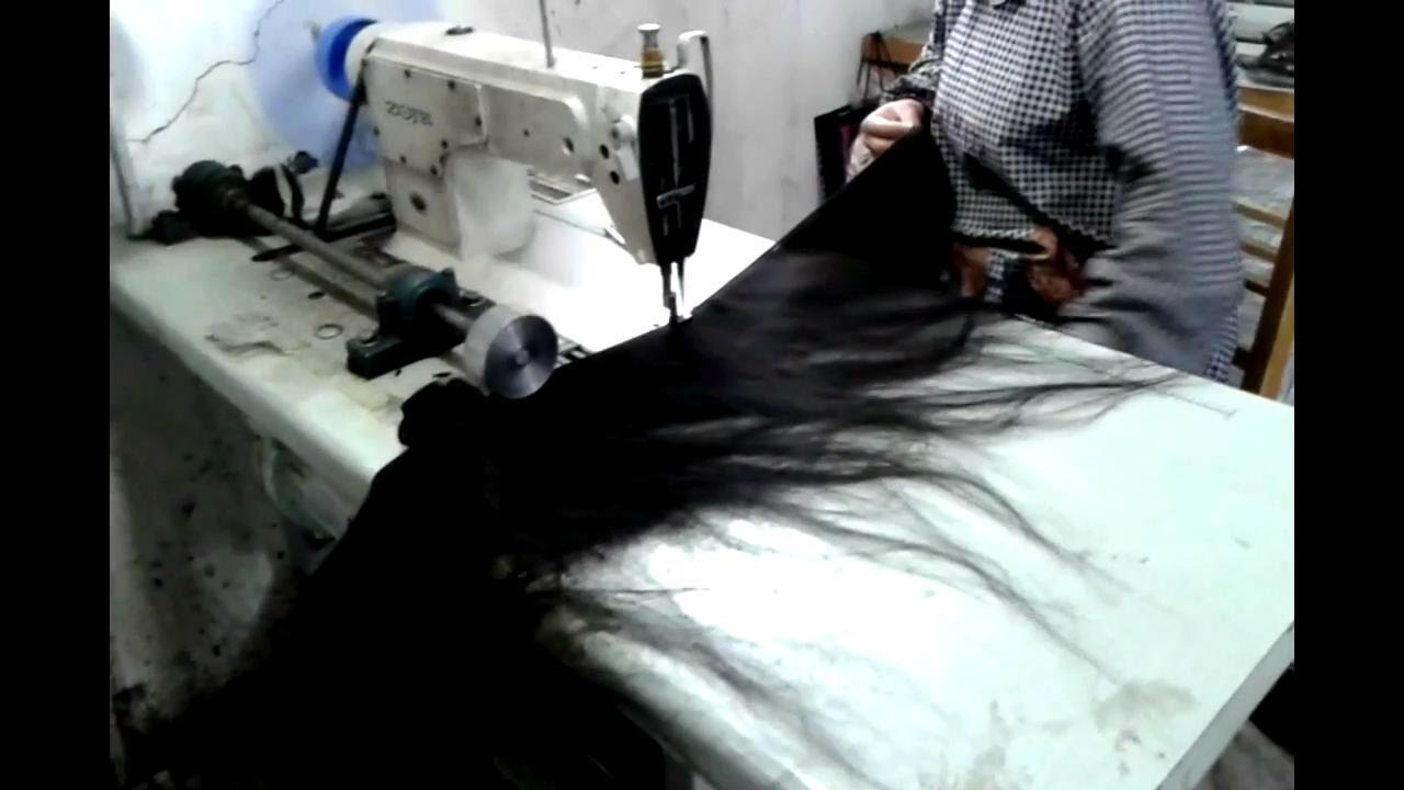 How We Make Weave By Loks 100 Human Hair Factory Wholesale Human
