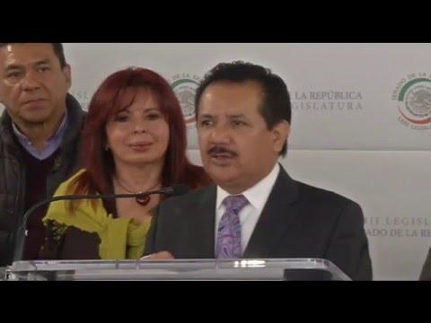 """Conferencia de la senadora Layda Sansores San Román, con el tema """"El agua"""""""