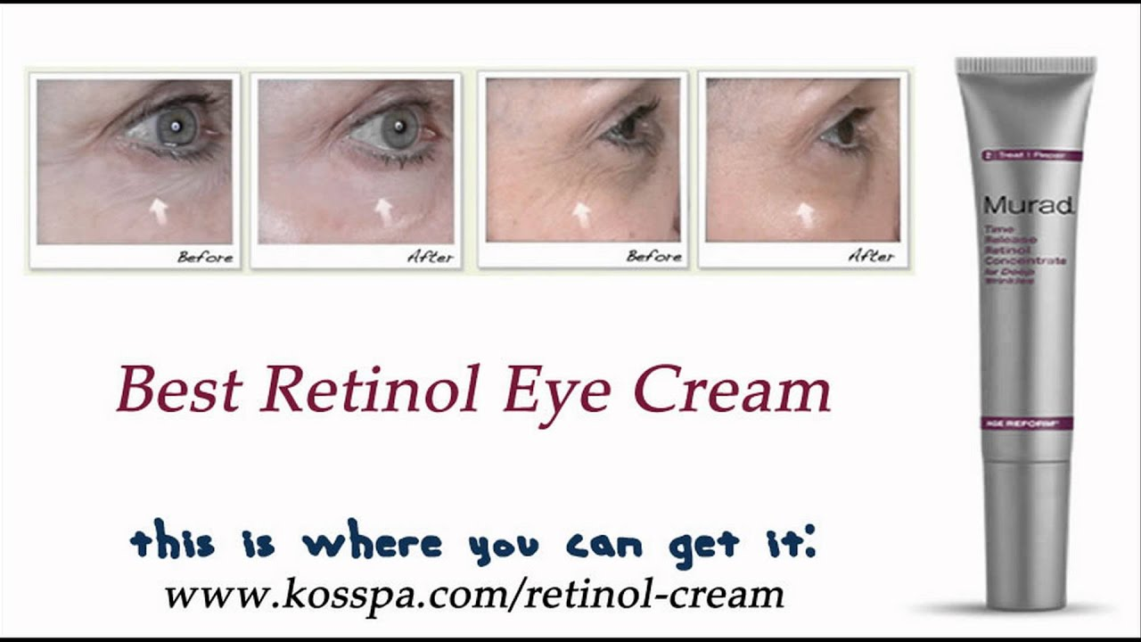 Best Retinol Eye Cream YouTube