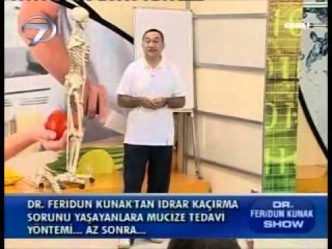 Dr. Feridun Kunak Show 3 Ekim B1 (Kuyruk Sokumu Ağrılarında Yapılması Gerekenler)