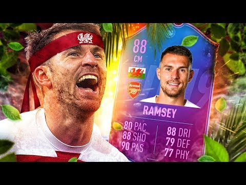 IS HE WORTH IT?! 88 END OF ERA RAMSEY PLAYER REVIEW! FIFA 19 Ultimate Team