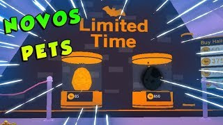 BUYING the MOST EXPENSIVE EGG HALLOWEEN in PET SIMULATOR-ROBLOX