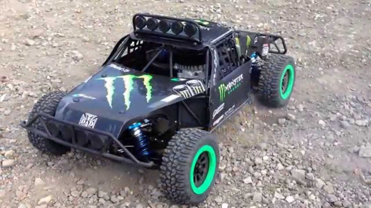 Rc40 Losi 5ive - first run by One8buggy