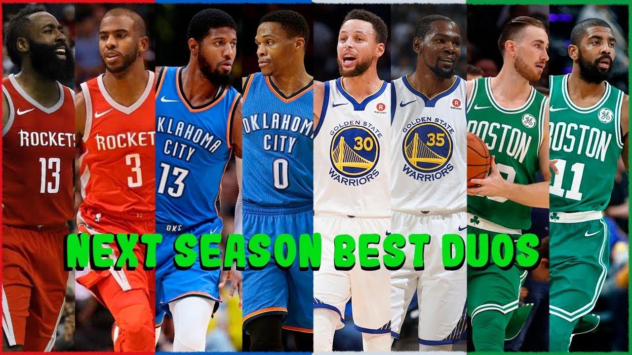 Best Nba Teams 2019 NBA Top 10 Duos of the 2018   2019 Season   YouTube