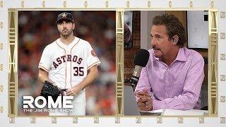 Justin Verlander Says MLB Is JUICING Baseballs For Home Runs | The Jim Rome Show