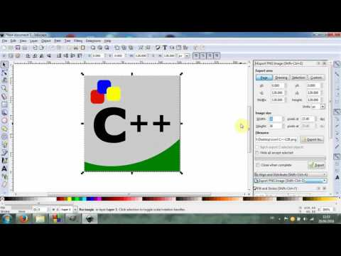 C++ & GUI: Create Icon With Inkscape And GIMP, Then Change The Icon Of The Exe