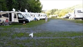 aire de camping car de Pronsfeld Allemagne