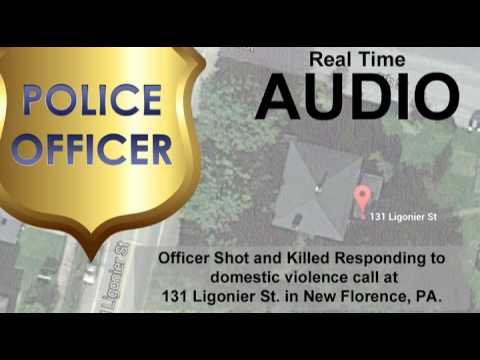 Dispatch Audio from Police Officer Shot in New Florence, PA 11/28/15