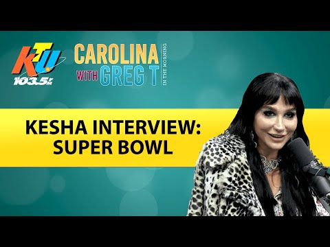 Carolina With Greg T In The Morning Show - Kesha Talks Singing The National Anthem At The Super Bowl