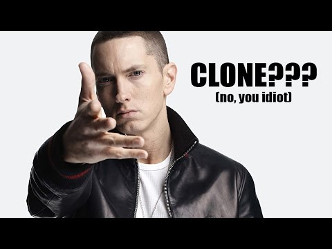 EMINEM REPLACED BY CLONE?! Hint: NO.