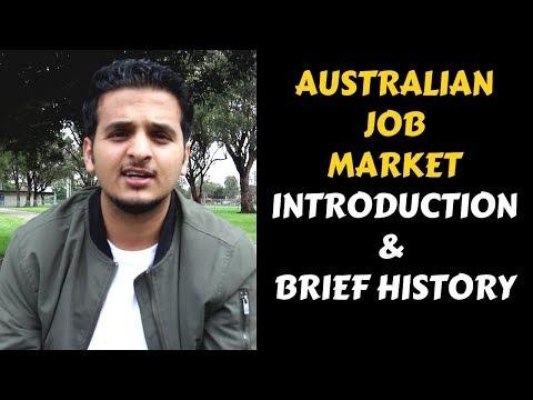 Australian Job Market Ep.1 : Introduction