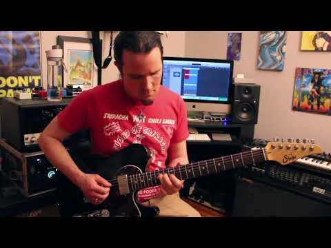 Tesla Love Song guitar solo cover - Suhr Alt T - Kemper Top Jimi