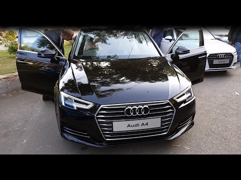 Audi A4 2017 Launching| Complete Review| Startup| Pakistan