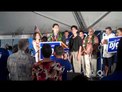 CHARLES DJOU WINS HAWAII CONGRESSIONAL RACE