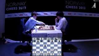 ♚ Magnus Carlsen vs Teimour Radjabov Chess Blitz ☆ Norway Chess 2013