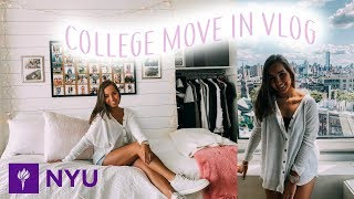 College Move In Day 2019 (New York University) | Louisa Kristina