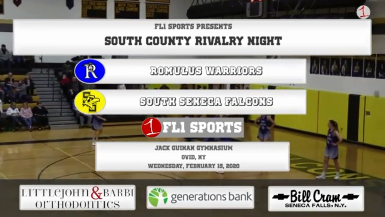 WEBCAST REPLAY: South-end rivalry renewed as Romulus visits South Seneca (FL1 Sports)