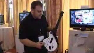 Guitar Hero 3 Wii guitar features