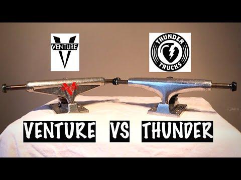 Venture vs Thunder!