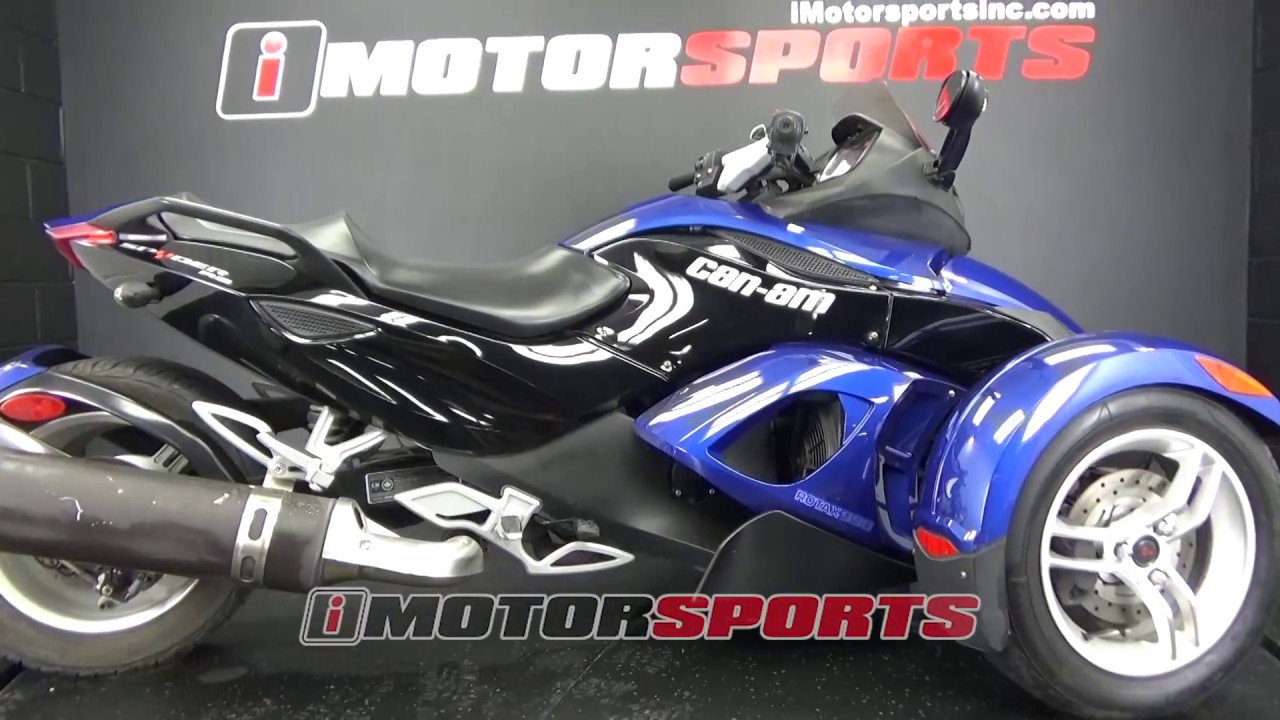 2010 can am spyder roadster rs a3526 imotorsports