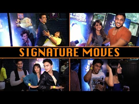 Jhalak Dikhla Jaa contestants' signature moves
