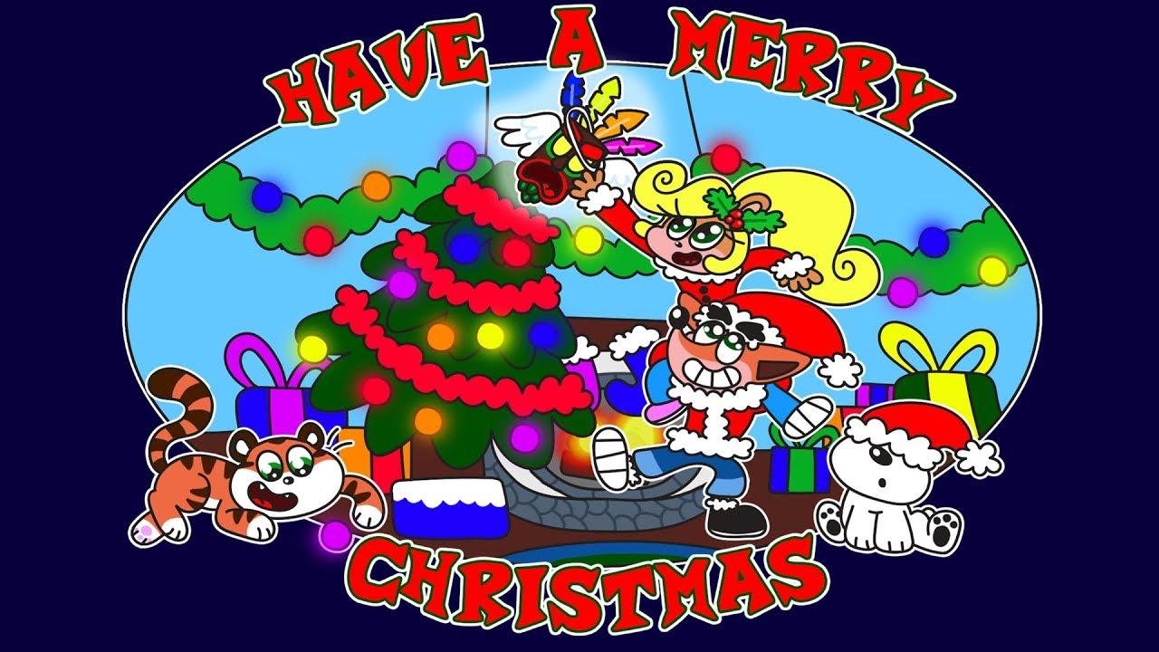 Crash Bandicoot Christmas.Let S Draw Crash Bandicoot Merry Christmas Youtube