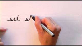 How To Write In Cursive // Lesson 3 // A Complete Course // Free Worksheets