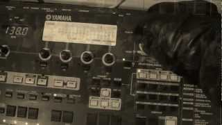 Yamaha rm1x Korg ms2000: Trance techno track (cold war style clip)