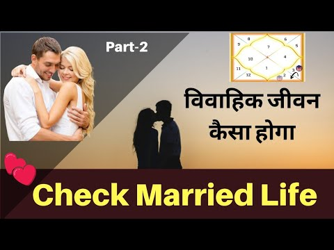 Check Marriage Life Part-2 | Marriage From AstroLogy