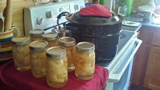Canning Cooking Pears Without Sugar