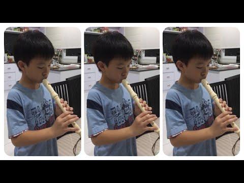 """Arirang"" -Korean Folk Song -Recorder By KennieSuperstar040"