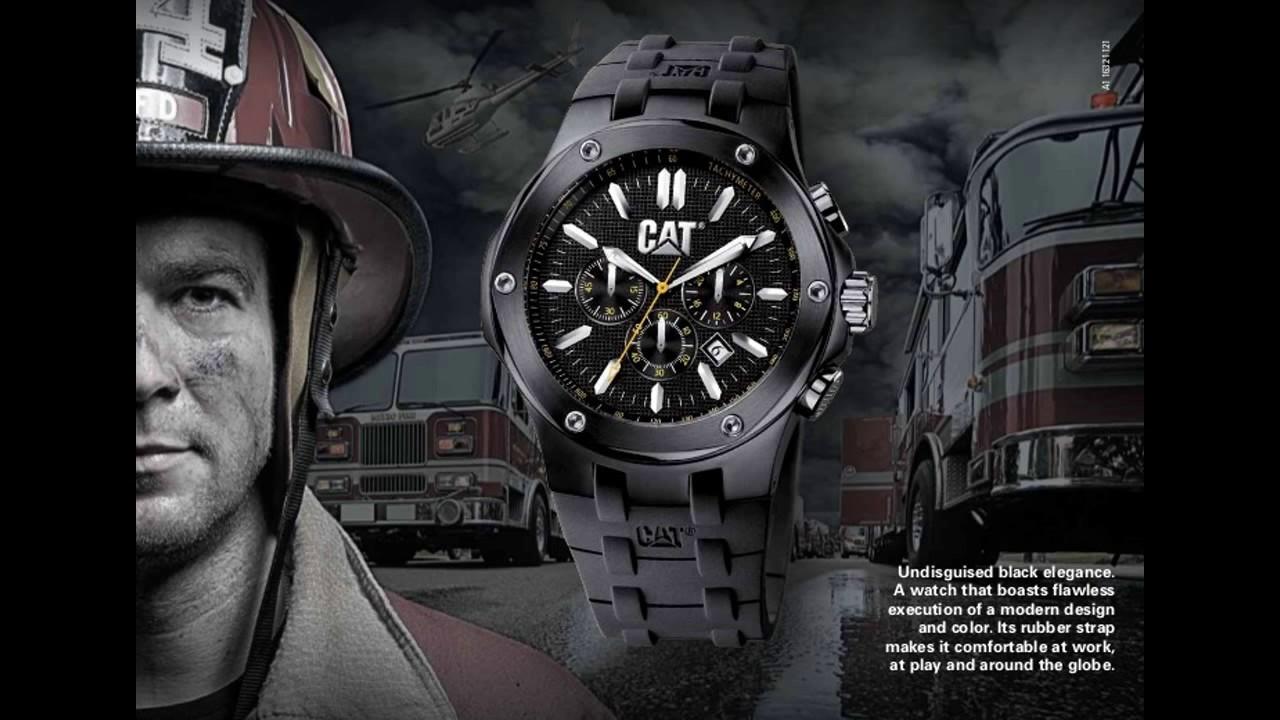 0f1f0617b012 Relojes Cat - YouTube