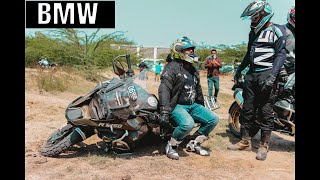 Off-road experience with BMW Motorrad India