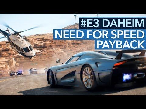 E3-Fazit zu Need for Speed: Payback - Rennen & Heist-Mission gespielt - #E3daheim