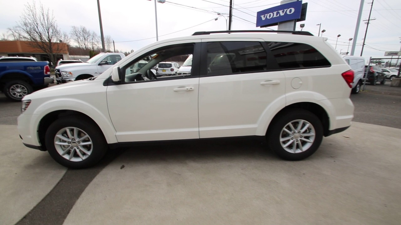 2017 Dodge Journey Sxt Vice White Ht599974 Mt Vernon