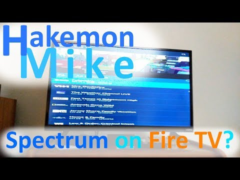 Spectrum TV On An Amazon Fire TV?  It's Possible!