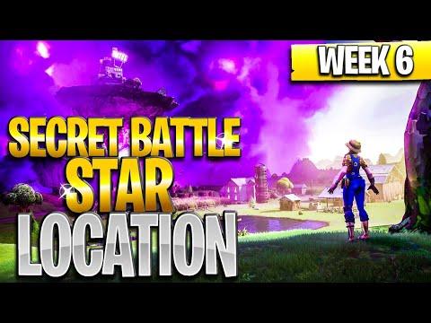 WEEK 6 SECRET BATTLE STAR LOCATION GUIDE! - Fortnite Find The Secret Battle Star In Loading Screen 6