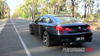 BMW M6 Gran Coupe engine sound and 0-100km/h