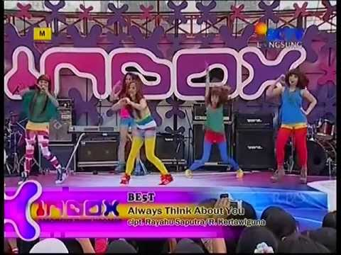 BE5T - Always Think About You @InboxSCTV_ 120601