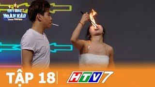 QUÝ ÔNG HOÀN HẢO TẬP 18 FULL HD - Màn châm thuốc trên ngọn lửa cực Shock - Gameshow giải trí