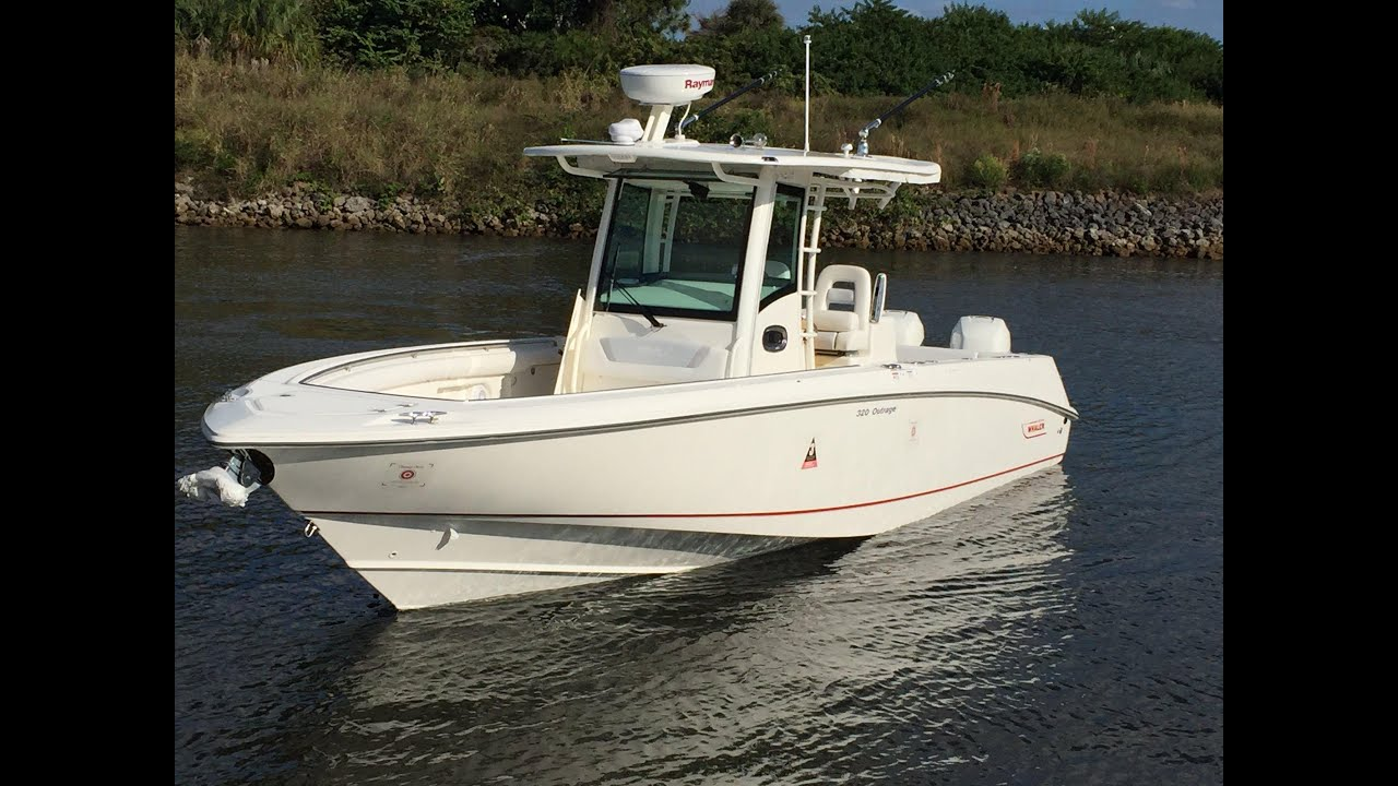 2015 Boston Whaler 320 Outrage Boat For Sale at MarineMax ...