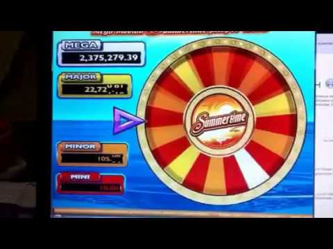 how to get mega moolah jackpot wheel