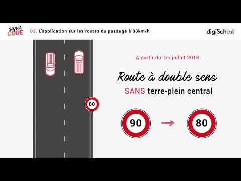 Limitation de vitesse à 80 km/h : tout ce qu'il faut savoir !