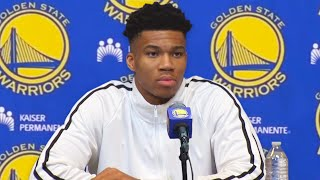 Giannis Antetokounmpo Trade To Warriors With Stephen Curry & Klay Thompson - Leaving Bucks