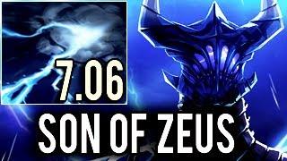 New Son of Zeus 7.06 Imba Razor with 23 kills & 60k Damage Skadi Miracle- 9k MMR Gameplay Dota 2