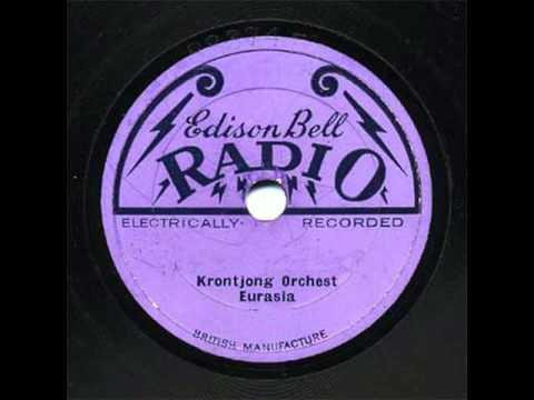 Krontjong Orchest Eurasia - Ajoen Ajoen (1928)