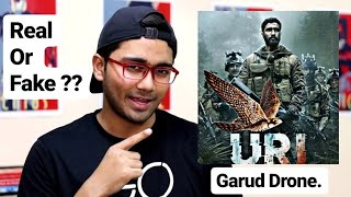 Truth behind the Surgical Strike Garud Drone Shown In URI Movie 2019 | Garud Drone fake or real?