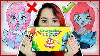 One of Echo Gillette's most viewed videos: You Didn't Know Crayons Could Do This