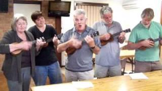 ukulele building workshop song - unkle cyril