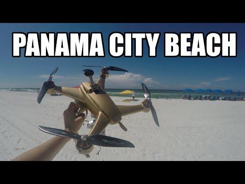 Chroma Drone at Panama City Beach 4K HD